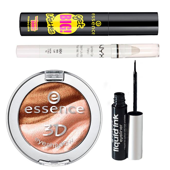 Productos utilizados - Maquillaje para diario con productos Low Cost.