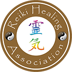 Reiki Healing Association Gold Logo