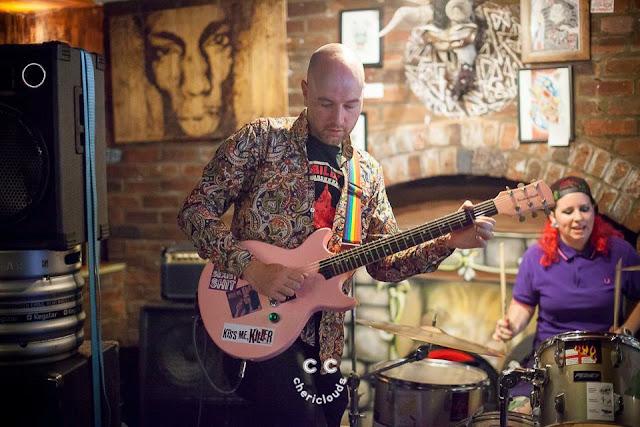 Kiss Me, Killer performing at The Chelsea Inn, Easton, Bristol, hosted by Carnival Punks 22/7/2017