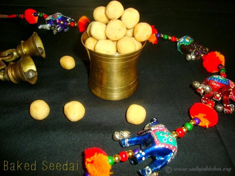 images for Baked Seedai Recipe / Uppu Seedai Recipe / Vella Seedai Recipe / Crispy Baked Uppu Cheedai