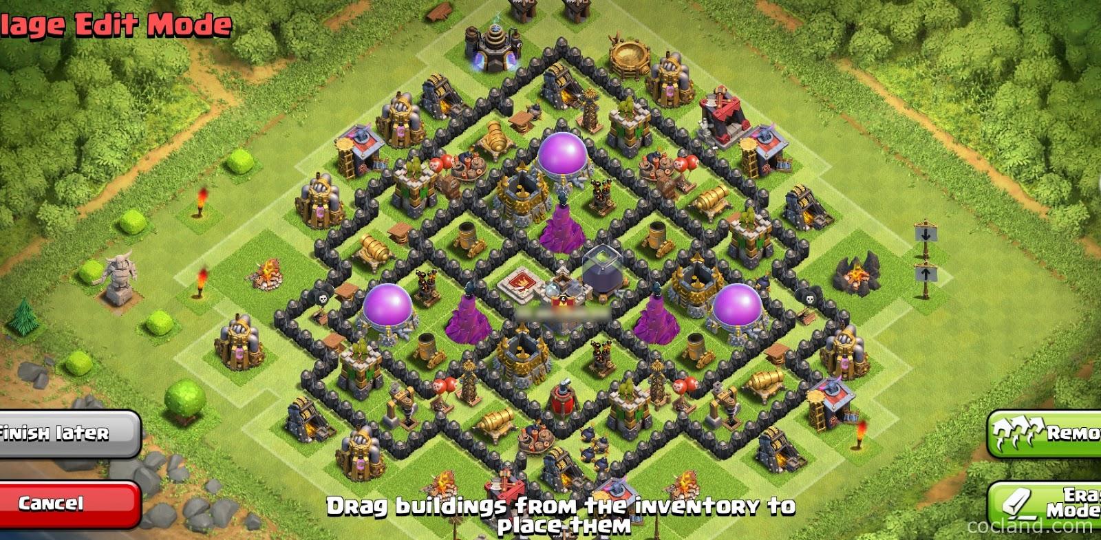 Base Coc Th 8 Anti Maling 5