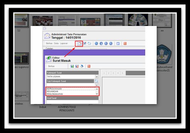 Aplikasi Jurnal Penerimaan Dan Pengeluaran Surat Terbaru