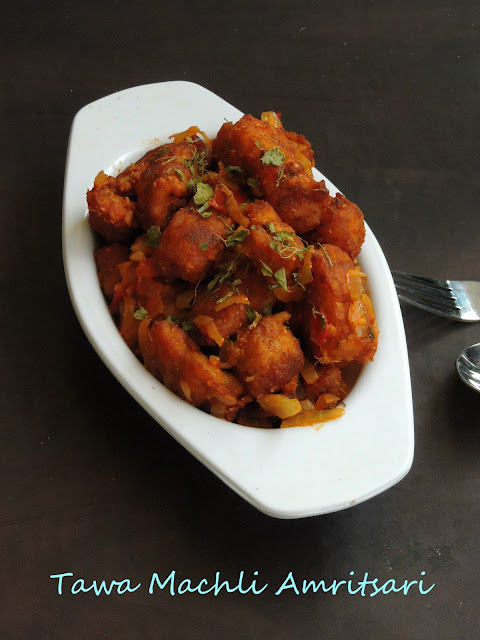 Tawa Machli Amritsari, Punjabi Fried Fish