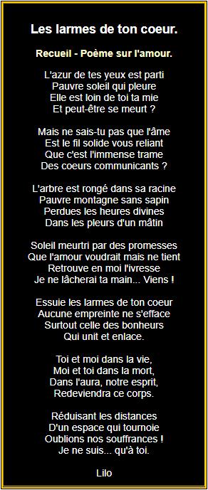 Poèmes Damour En Images Poésie Damour