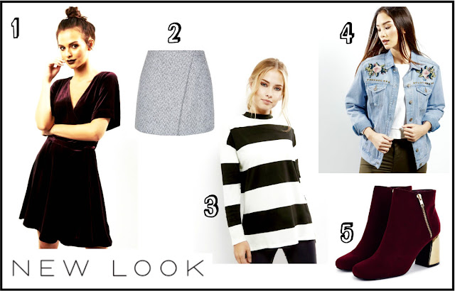 New Look Autumn/Winter 2016 Wishlist