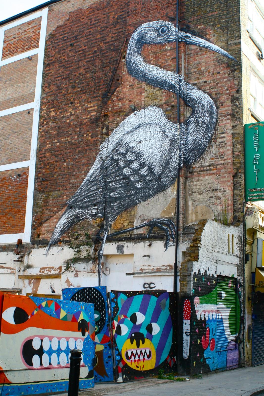 Shoreditch Street Art: Emma Hill: Shoreditch Street Art