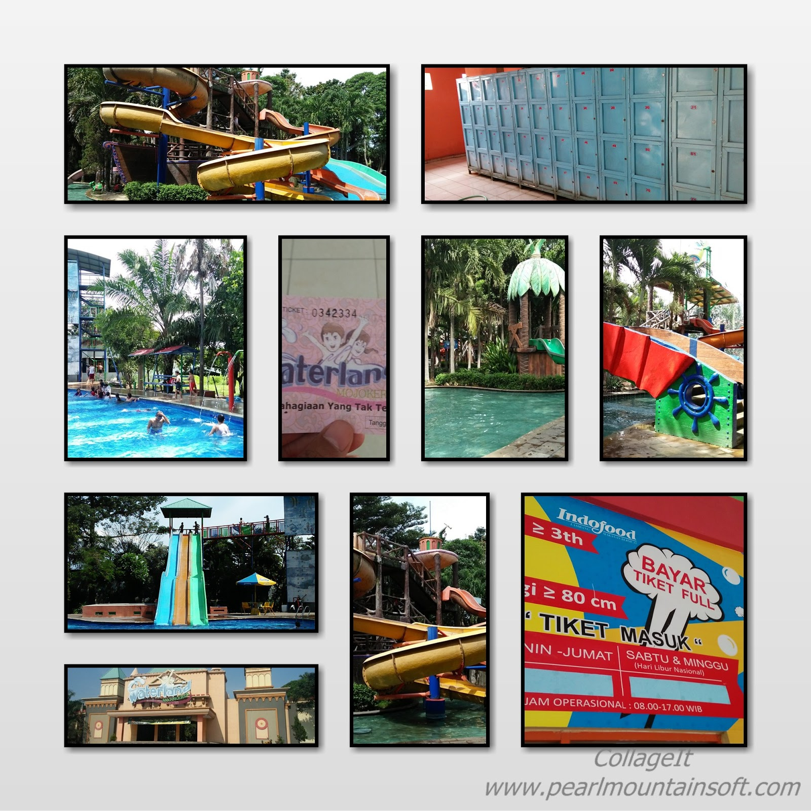 Ayo Main Air Dan Berenang Di Waterland Mojokerto Catatan