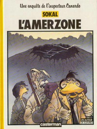L'amerzone, Canardo T5 de Sokal chez Casterman, couverture