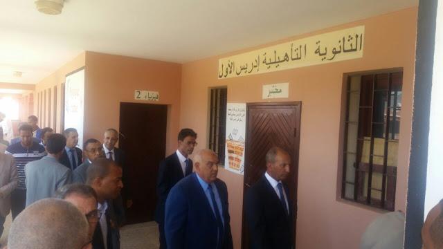 محمد حصاد يتفقد المؤسسات التعليمية بإقليم زاكورة