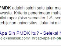 Apa itu PMDK ? Berikut Pengertiannya