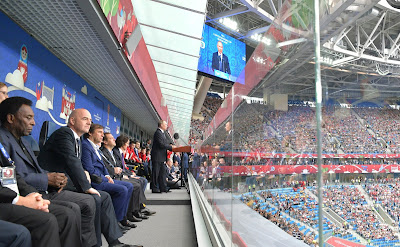 Speech at the opening ceremony of the 2017 Confederations Cup.