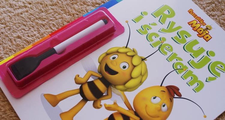 Rysuję i ścieram. Pszczółka Maja