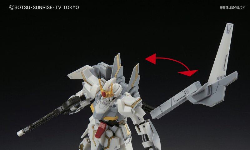 HGBF 1/144 Lunagazer Gundam