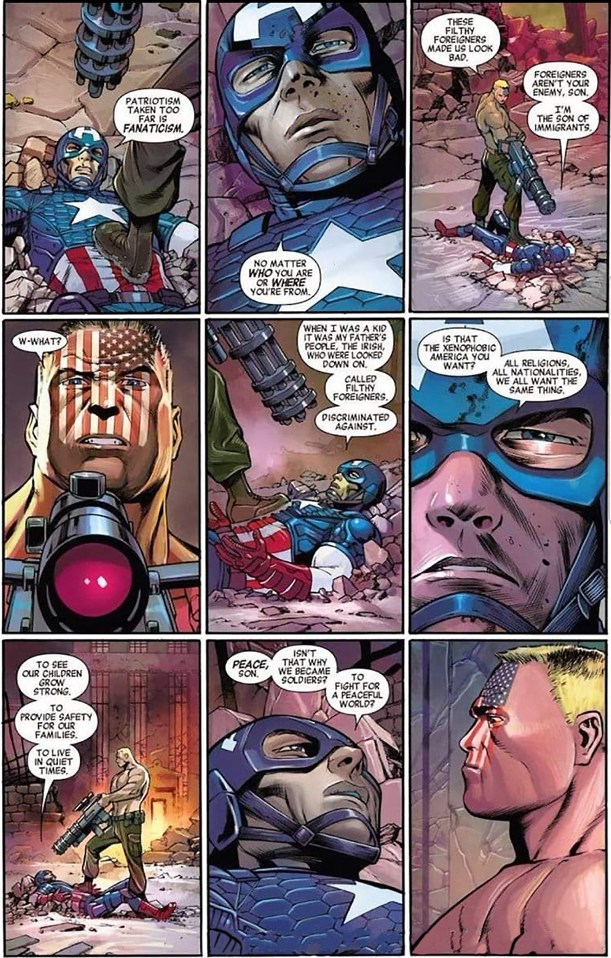Cap speaking about a better USA