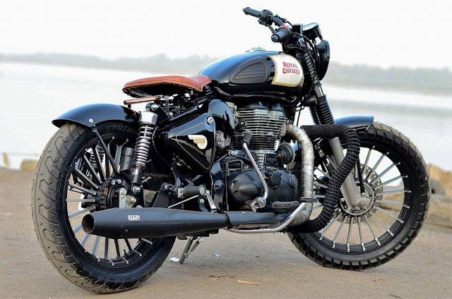 Modified Royal Enfield 350