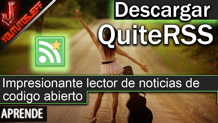 Descargar QuiteRSS Español - Configuración