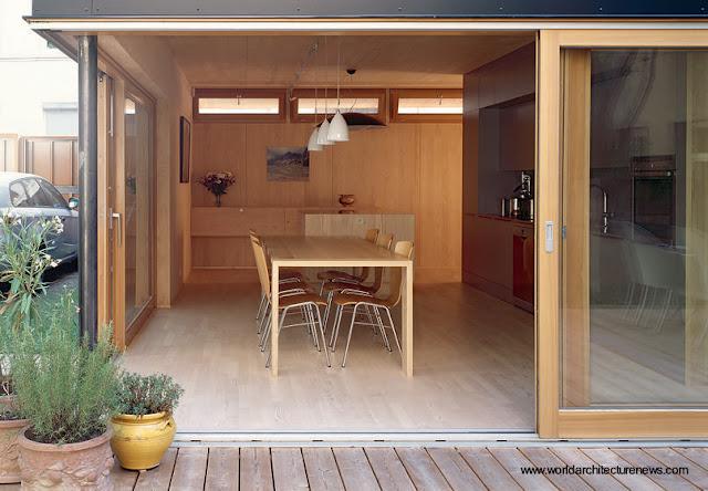Casa prefabricada de construcción rápida en madera