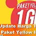 Update! Harga Indosat Yellow terbaru 1 GB 2000 dengan Pulsa Safe
