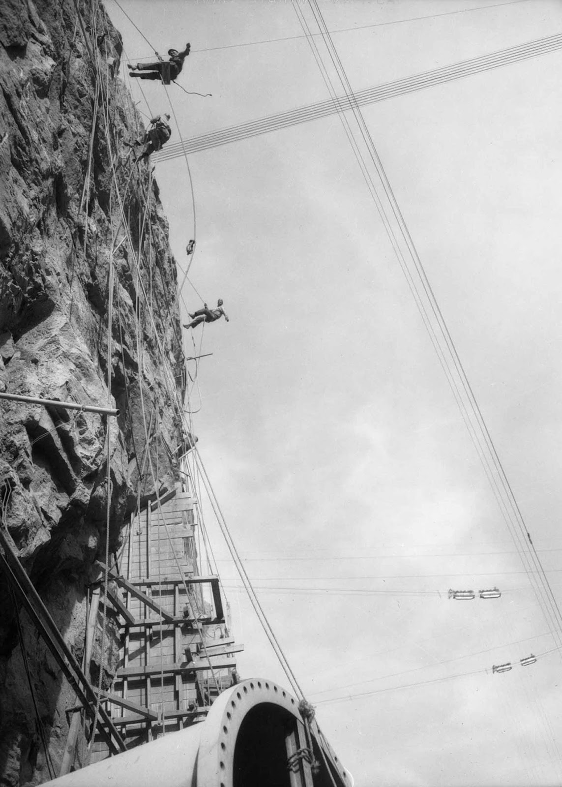 Construyendo la presa Hoover, 1931-1936