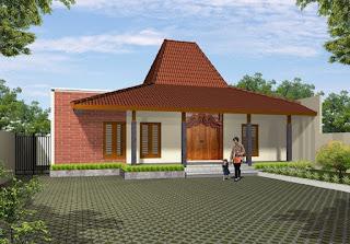 Gambar Desain Rumah Joglo Modern 1