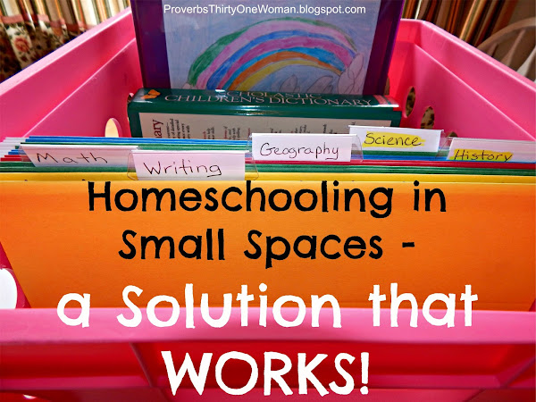 Homeschooling in Small Spaces - a Solution
