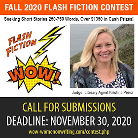 Fall 2020 Flash Fiction Contest - Deadline November 30, 2020