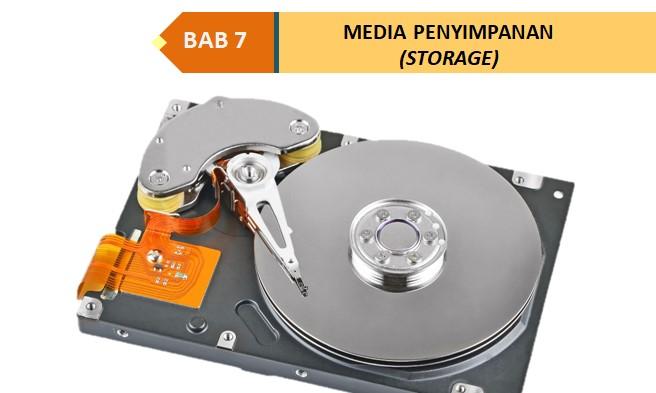 SISTEM KOMPUTER : Media Penyimpanan (Storage)