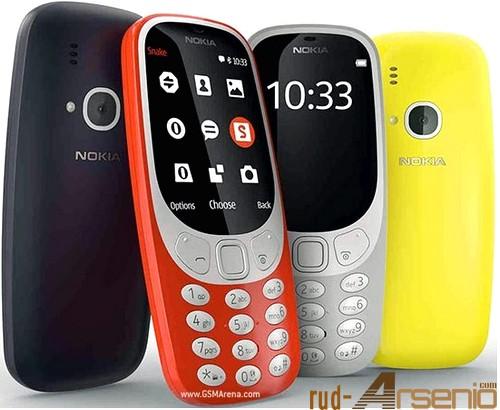 Harga dan Spesifikasi Nokia 3310 New Model 2017