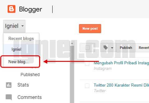 Cara Membuat Facebook Dengan Blogspot