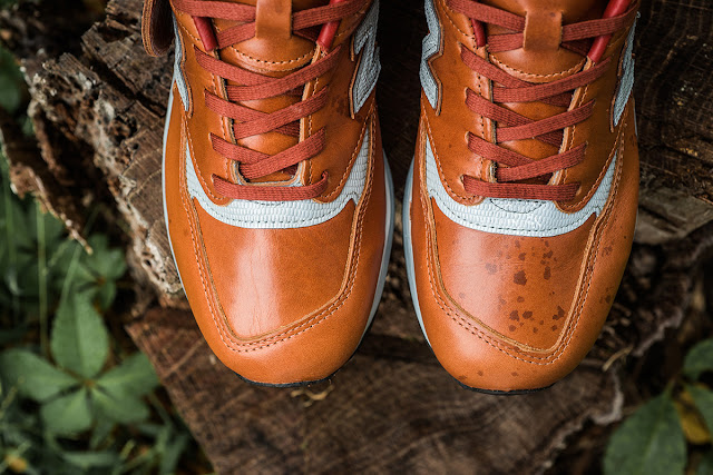 New Balance Bespoke 998 Horween Leathers Chicago