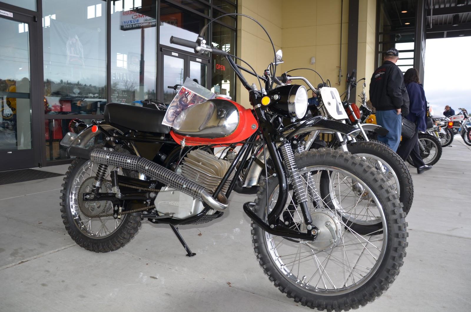 100cc Yamaha Dirt Bikes 1978