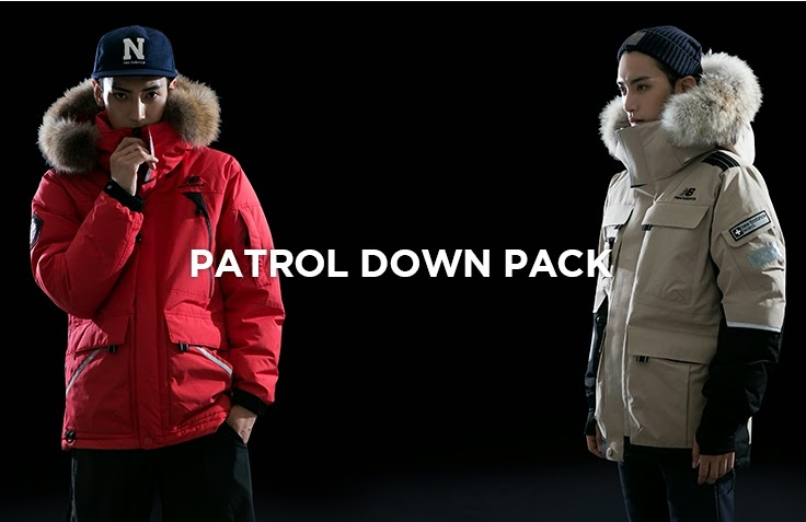 cdb71ea9b4243 agencygarten: 2014 NOVEMBER NEWBALANCE PATROL DOWN JACKET MODEL. KIM ...