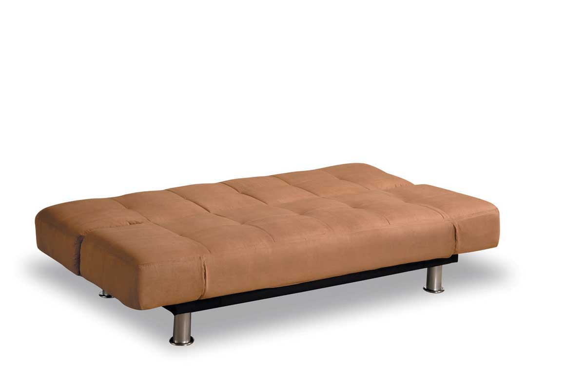 Sleeper Sofa Bed Which Is Posher Couch Or Click Clack Chair Modern Leather