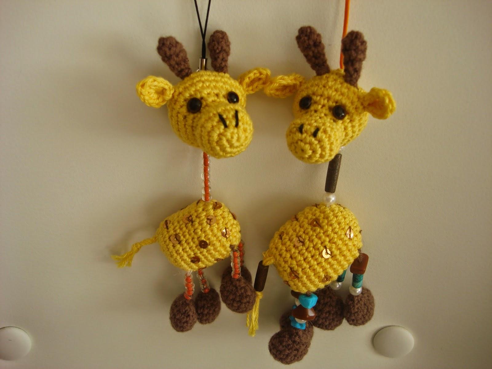 canal crochet llavero jirafa amigurumi patr n libre. Black Bedroom Furniture Sets. Home Design Ideas