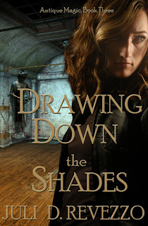 Drawing Down the Shades by Juli D. Revezzo, $.99 Kindle Countdown sale, beach reading, July 4th sale