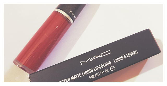 RetroMatte Liquid Lipcolour Mac Cosmetics