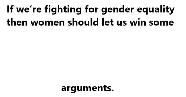 gender equality jokes