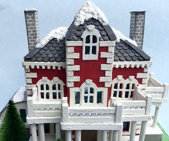 Wilkins Putz House top porch view