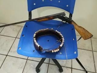 Guarnição Policial apreende arma de fogo em Cubati