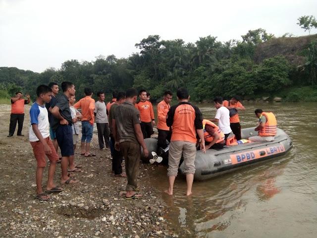 Pulang Sekolah Mandi di Sungai Bilah, Asa Ambarita Hilang Terbawa Arus