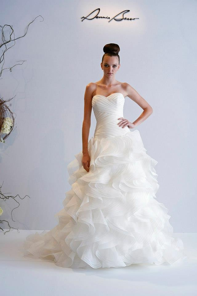 dennis basso 2013 spring bridal wedding dresses world of