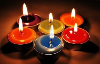 velas de colores fin de año