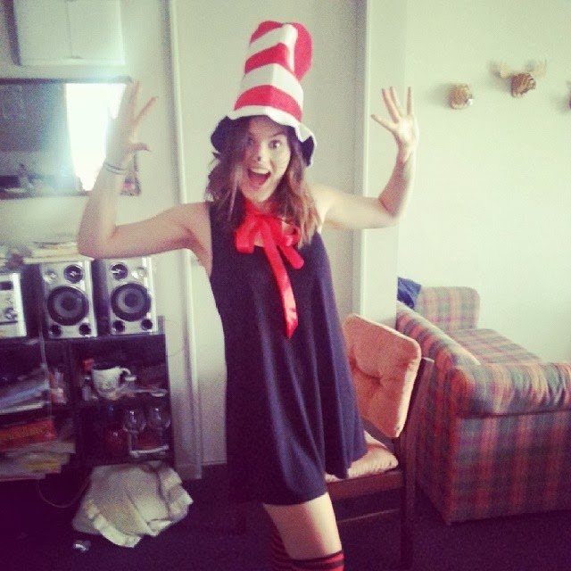 Cat in the Hat cosplay