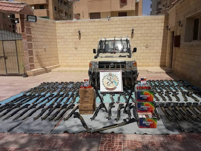 صورة نشرها المتحدث العسكري