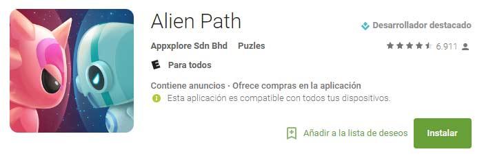 alien path