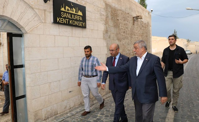 Kaymakam Göker'den Başkan Sözen'e ziyaret