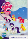 My Little Pony Wave 7 Rarity Blind Bag Card