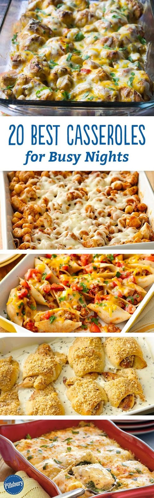 20 Best Casseroles for Busy Nights