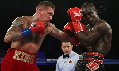Banku and Okro Stew Boxer Joshua Clottey - Nortey