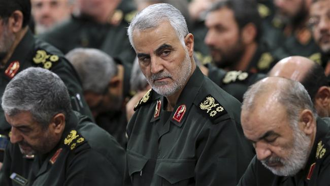 Iran not to rest until eradication of all terrorists: General Qassem Soleimani
